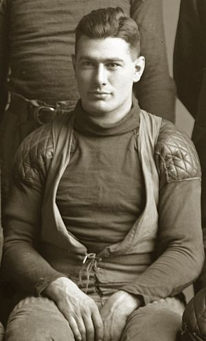 Joe Magidsohn - Magidsohn from the 1910 Michigan football team photograph