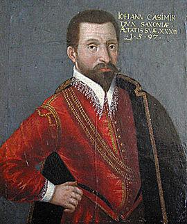 Johann Casimir, Sachsen-Coburg, Herzog