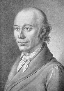 Johann Heinrich Voß (Sepiazeichnung von J. N. Peroux) (Quelle: Wikimedia)