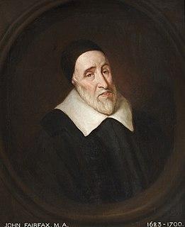 John Fairfax (minister)