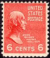 John Quincy Adams 1938 Issue-6c.jpg