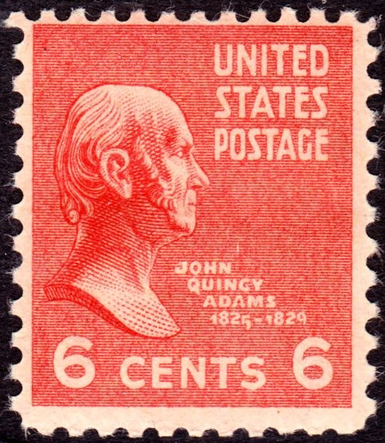 John Quincy Adams 1938 Issue-6c