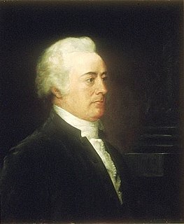 John Rutledge 2nd Chief Justice of the United States and American politician