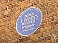 John Tweed blue plaque (cropped).jpg