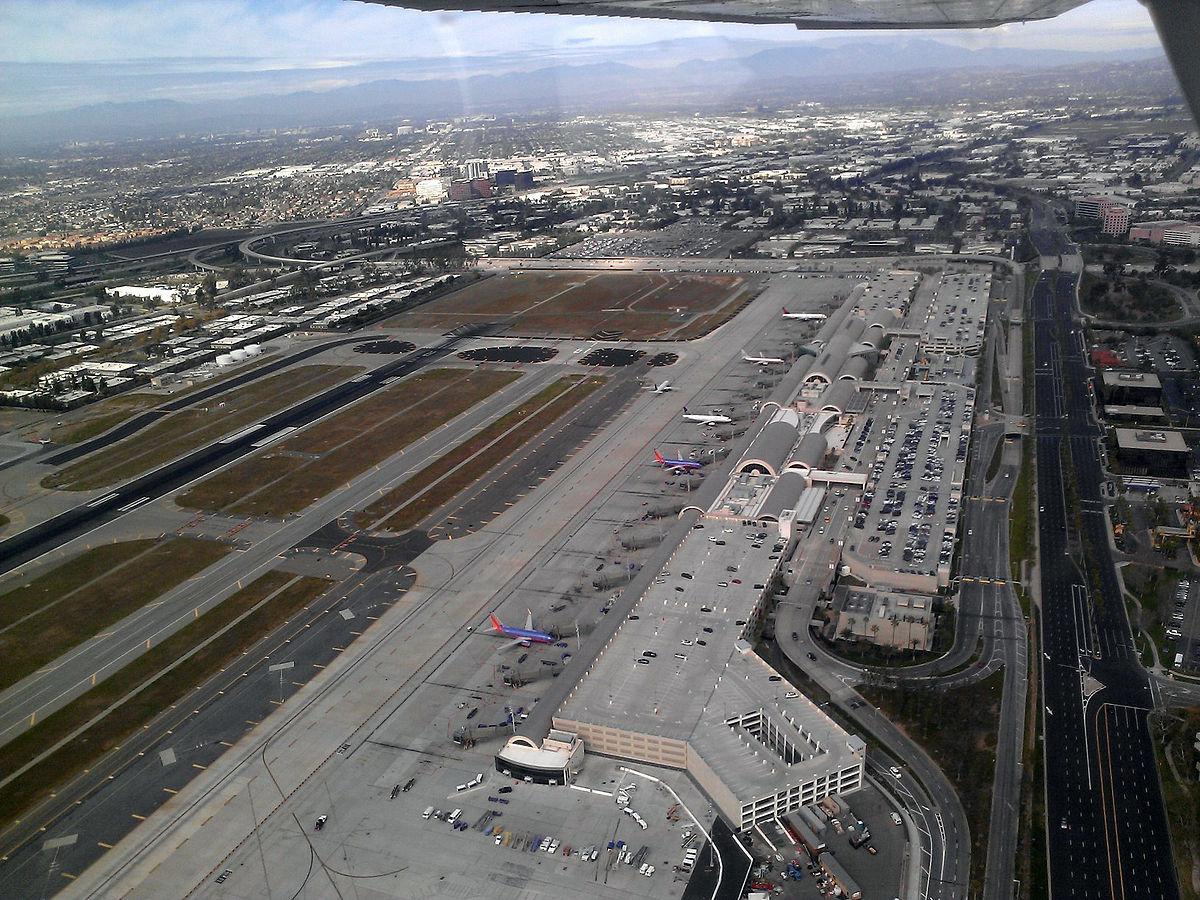 Santa Ana Airport Rental Car Return