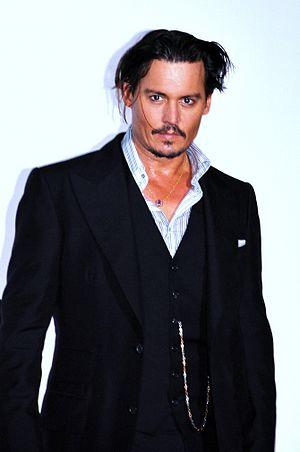Français : Johnny Depp à l'avant-première de P...
