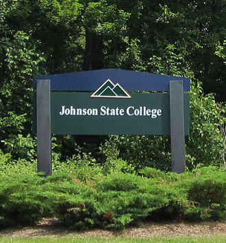 Johnson State College - Image: Johnson State College Sign