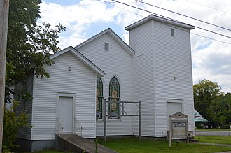 National Register of Historic Places listings in Barren County, Kentucky - Image: Johnston Chapel CME in Glasgow