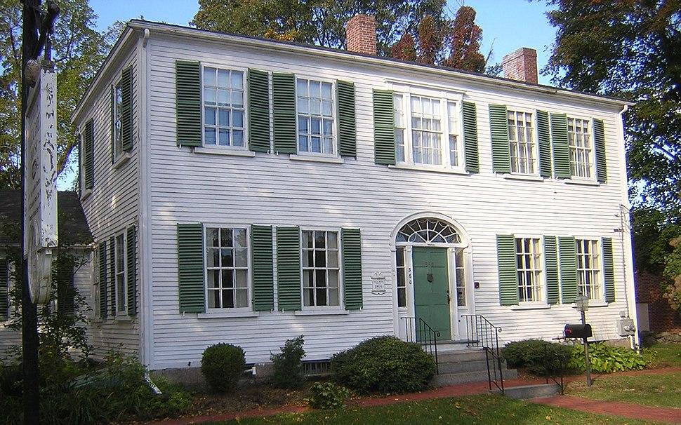 Jonathan Belcher House Randolph MA