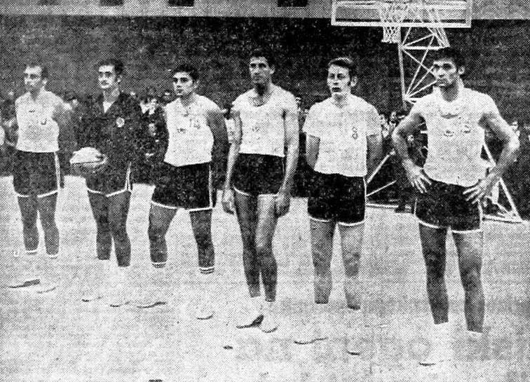 Jugoslovanska košarkarska reprezentanca