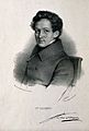 Jules-Germain Cloquet. Lithograph by Z. Belliard. Wellcome V0001158.jpg