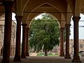 July 9 2005 - The Lahore Fort-Hall of public audience looking thru the arches.jpg