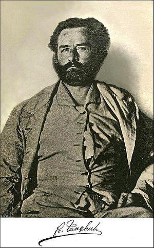 Franz Wilhelm Junghuhn - Photograph taken in 1860