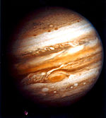Voyager 1 image of Jupiter
