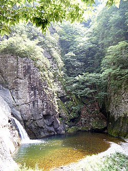 Juwangsan national park waterfall.jpg