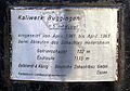 Kübel aus dem Kaliwerk Buggingen vor dem Landesbergbaumuseum in Sulzburg, Tafel.jpg