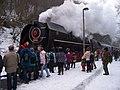 Křivoklát, Křivoklát expres (prosinec 2012), lokomotiva.jpg