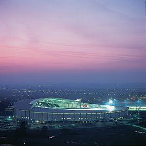 The Kingston Communication Stadium, in Kingsto...