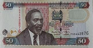 Kenyan shilling currency