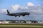 KLM B777-306ER (PH-BVD) landing at Amsterdam Airport Schiphol in 2018 (4).jpg
