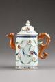 Kaffekanna gjord på 1800-talet i Kina - Hallwylska museet - 95891.tif
