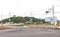 Kagawa prefectural road 3 Shido Yamakawa line Nagaomyo intersection.jpg