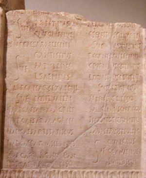 Roman calendar - Image: Kalender