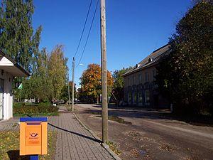 Kallaste - Main street of Kallaste