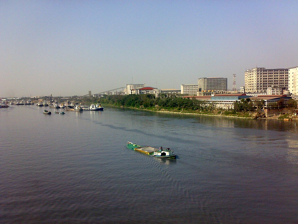 Kanchpur Industrial Area from Shitalaksha river view 2