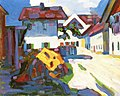 Kandinsky - Street in Murnau (also known as Houses), 1908.jpg