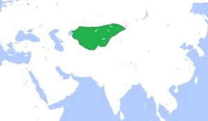 Khitan people - Qara Khitai circa 1200