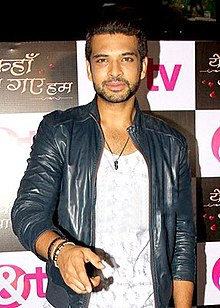 Karan Kundra at the launch Yeh Kahan Aa Gaye Hum.jpg