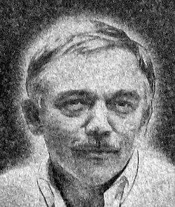 Karel Kryl – memorial marker in Prague Letná (only portrait).jpg