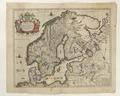 Karta över Skandinavien från 1700-talet - Skoklosters slott - 98005.tif