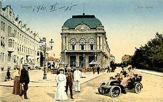 Szeged - Early 20th century postcard
