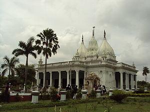 Kathgola - The temple in the Kathgola Gardens.