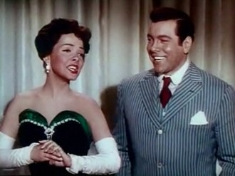 Kathryn Grayson - with Mario Lanza in The Toast of New Orleans