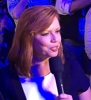 Kelly O'Donnell - Kelly O'Donnell reporting at the 2016 Democratic National Convention