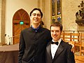 Ken David Masur with Evan Larson-Schulze - Flickr - Gruenemann.jpg
