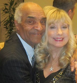 Kenny Lynch - Kenny Lynch (with Susie Silvey) in 2014