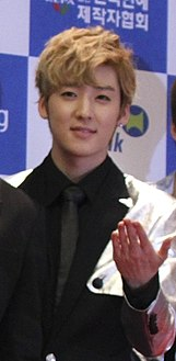 Kevin U-Kiss Dream Concert 2013 Source-K-Soul Magazine (cropped).jpg