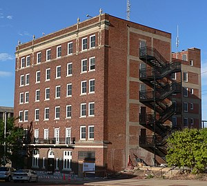 National Register of Historic Places listings in Red Willow County, Nebraska - Image: Keystone Hotel (Mc Cook, Nebraska) from NE 1