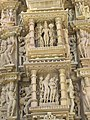 Khajuraho India, Devi Jagdambi Temple 02.JPG