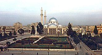 Khalid ibn al-Walid - Khalid's tomb is present in Khalid ibn al-Walid Mosque, Homs – Syria.
