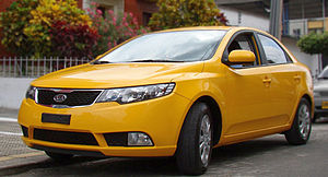 Kia Sephia - Kia Grand Sephia Taxi (TD)