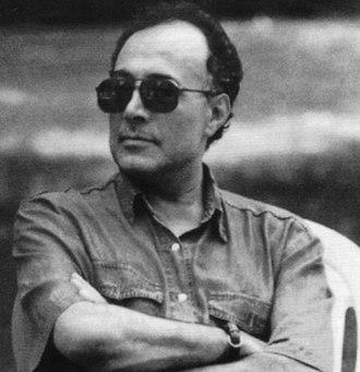 Abbas Kiarostami - Kiarostami directing a film