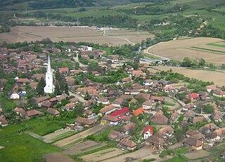 Chibed Commune in Mureș County, Romania