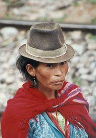 「ケチュア族  女性」の画像検索結果