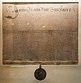Kilkenny St. Mary's Church Kilkenny Room Charter of James I 1609 2017 09 11.jpg