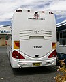 "King Long ""6126AU"" bodied Iveco Delta C260 (Rear view).jpg"